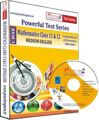 Practice guru Mathematics Class 11 & 12 Test Series