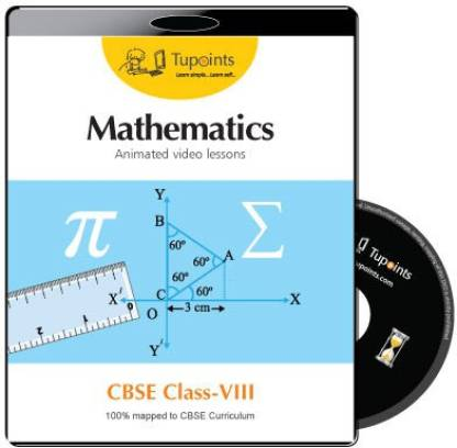 Tupoints CBSE VIII Mathematics Animated video lessons