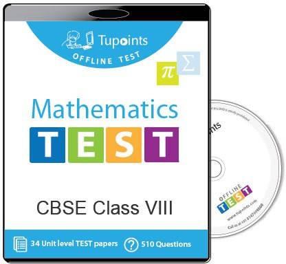 Tupoints Cbse Class 8 Maths Offline Test
