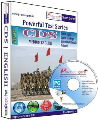 Practice guru Powerful Test Series CDS Medium English