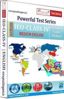 Practice guru Powerful Test Series - IEO Medium English (Class - 4)