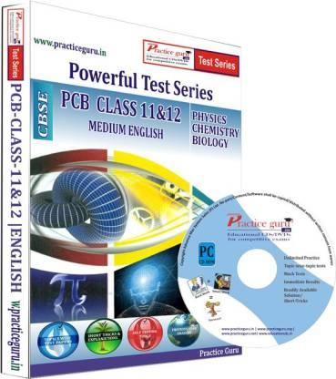 Practice guru PCB Combo Pack Class 11 & 12 Test Series