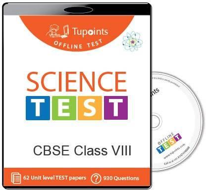 Tupoints Cbse Class 8 Science Offline Test
