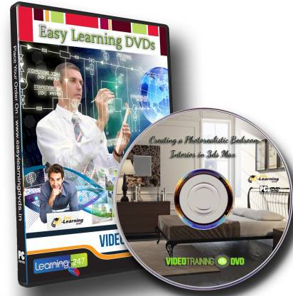 Easy Learning Creating A Photorealistic Bedroom In 3ds Max Video Training Dvd
