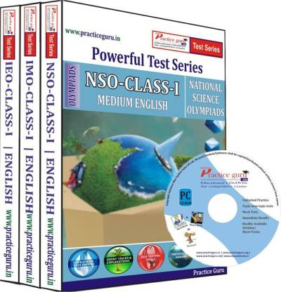 Practice guru Class 1 - Combo Pack (IMO / NSO / IEO) Test Series