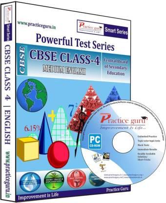 Practice guru Class 4 - Maths, EVS & English Combo