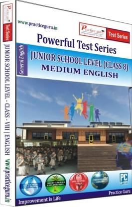 Practice guru Powerful Test Series - Junior School Level Medium English (Class - 8)