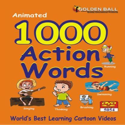 Golden Ball 1000 Action Words