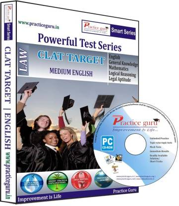Practice guru Powerful Test Series - CLAT Target Medium English