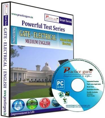 Practice guru Powerful Test Series - GATE - Electrical Medium English