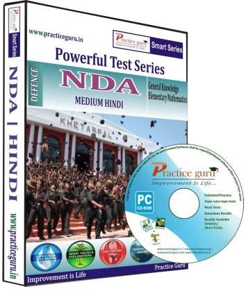 Practice guru Powerful Test Series NDA Medium Hindi