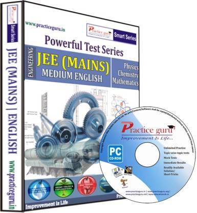 Practice guru Powerful Test Series - JEE (Mains) Medium English