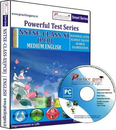 Practice guru NSTSE Class 11 (PCB)