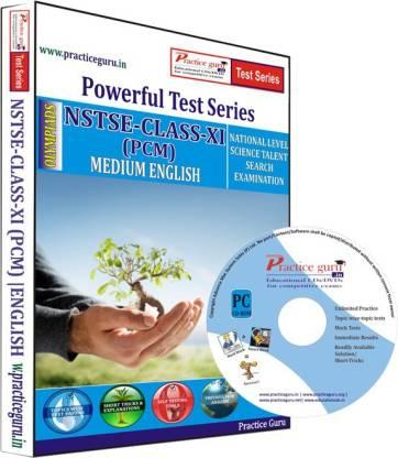 Practice guru NSTSE Class 11 (PCM) Test Series