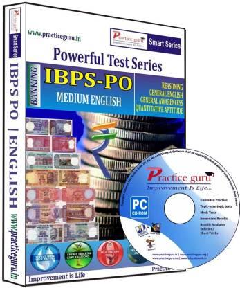 Practice guru Powerful Test Series IBPS - PO Medium English