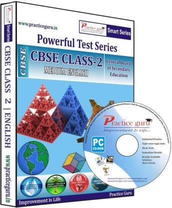 Practice guru Class 2 - Maths, EVS & English Combo