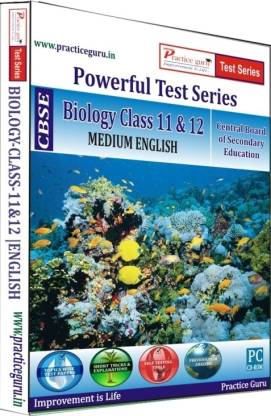 Practice guru CBSE - Powerful Test Series Biology Medium English (Class 11 & 12)