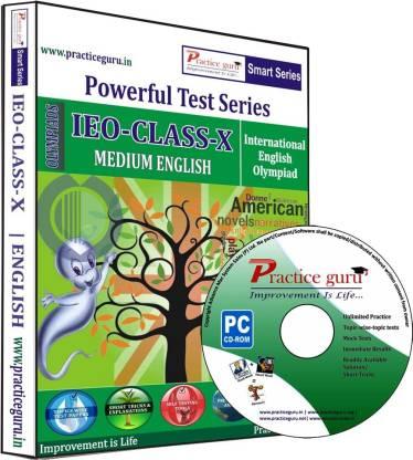 Practice guru Powerful Test Series IEO Medium English (Class - 10)