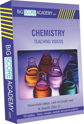 BigScoreAcademy.com Tamil Nadu Samacheer Kalvi Class 12 Chemistry Full Syllabus Teaching Video