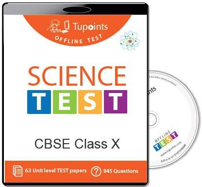 Tupoints Cbse Class 10 Science Offline Test
