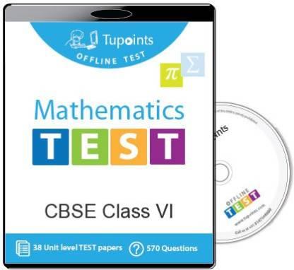 Tupoints Cbse Class 6 Maths Offline Test