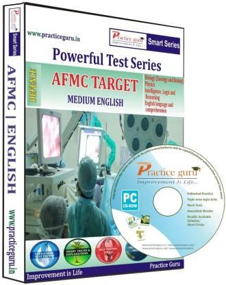 Practice guru Powerful Test Series AFMC Target Medium English