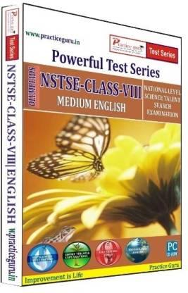Practice guru Powerful Test Series NSTSE Medium English (Class - 8)