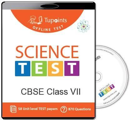 Tupoints Cbse Class 7 Science Offline Test