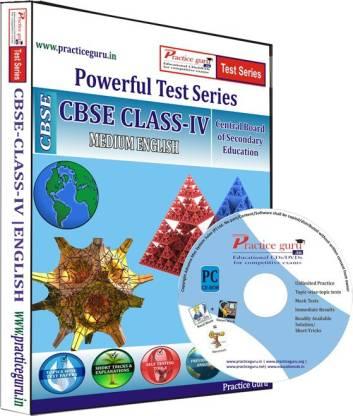 Practice guru Class 4 - Maths, EVS & English Combo Test Series