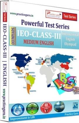 Practice guru Powerful Test Series - IEO Medium English (Class - 3)