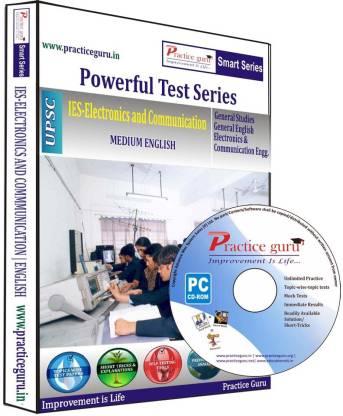 Practice guru Powerful Test Series IES - Electronics and Communication Medium English