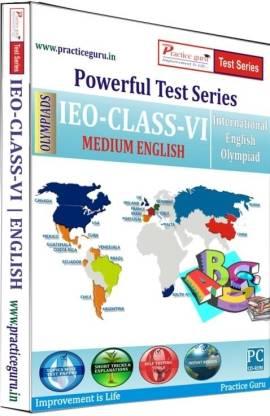Practice guru Powerful Test Series - IEO Medium English (Class - 6)