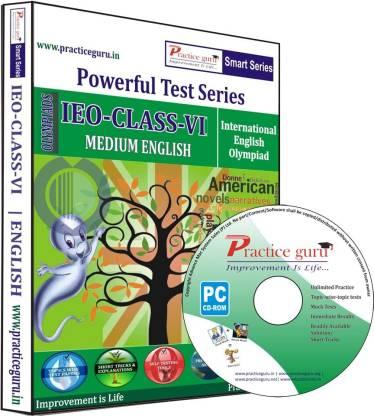 Practice guru Powerful Test Series IEO Medium English (Class - 6)