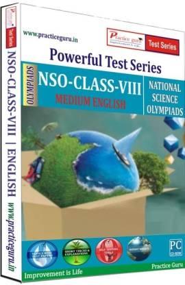 Practice guru Powerful Test Series - NSO Medium English (Class - 8)