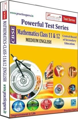 Practice guru CBSE - Powerful Test Series Mathematics Medium English (Class 11 & 12)