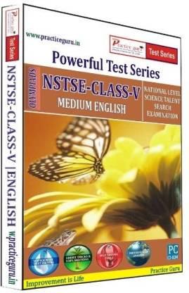 Practice guru Powerful Test Series NSTSE Medium English (Class - 5)