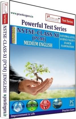 Practice guru Powerful Test Series NSTSE PCM Medium English (Class - 11)