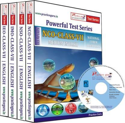 Practice guru Class 7 - Combo Pack (IMO / NSO / IEO / NCO) Test Series