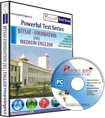 Practice guru BITSAT (Foundation, Class 11)