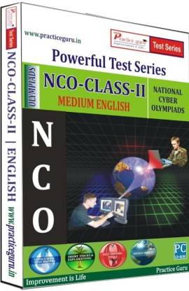 Practice guru Powerful Test Series - NCO Medium English (Class - 2)