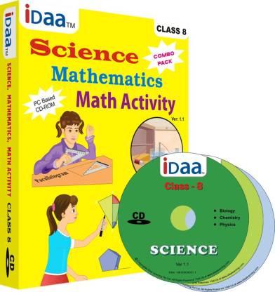 iDaa Combo Class 8 CDs