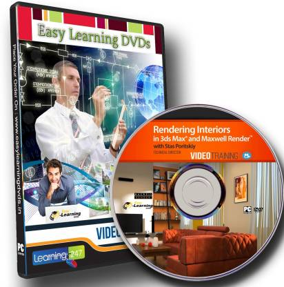 Easy Learning Rendering Interiors In 3ds Max And Maxwell Render Video Training Dvd