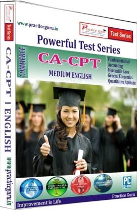 Practice guru Powerful Test Series CA - CPT Medium English