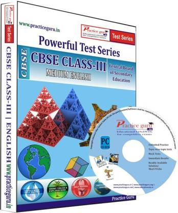 Practice guru Class 3 - Maths, EVS & English Combo Test Series