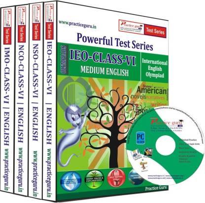 Practice guru Class 6 - Combo Pack (IMO / NSO / IEO / NCO) Test Series
