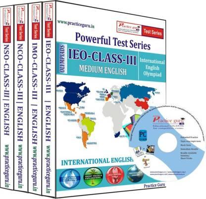 Practice guru Class 3 - Combo Pack (IMO / NSO / IEO / NCO) Test Series