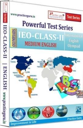 Practice guru Powerful Test Series - IEO Medium English (Class - 2)