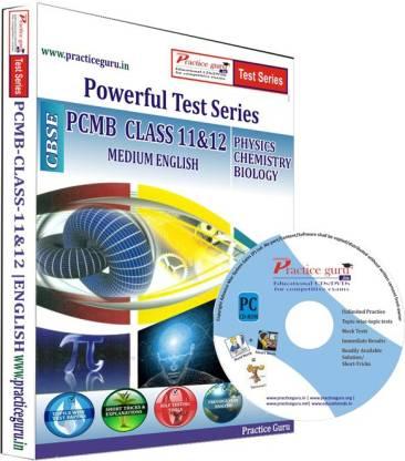 Practice guru PCMB Combo Pack Class 11 & 12 Test Series