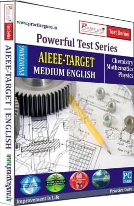 Practice guru Powerful Test Series AIEEE - Target Medium English