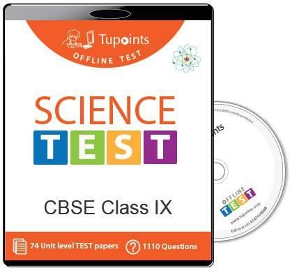 Tupoints Cbse Class 9 Science Offline Test